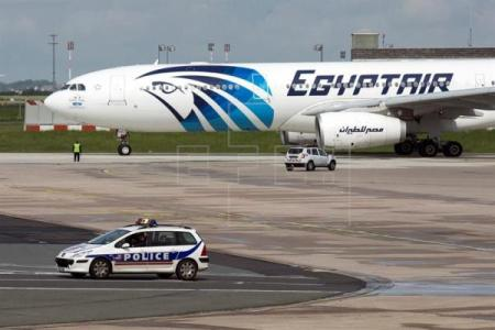 EgyptAir plane in Europe (EFE Spain)