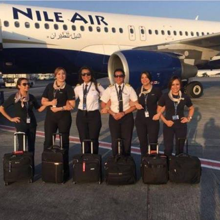 Egypt's Nile Air all-women flight crew