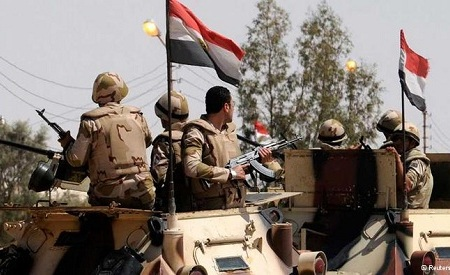 Egyptian army Counter-Terrorism North Sinai Reuters (Al Ahram)
