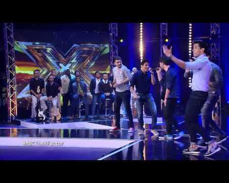 The5 first performance The XFactor YouTube