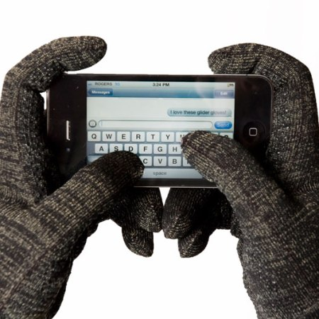 Conductive Hand Gloves for mobile touch screens
