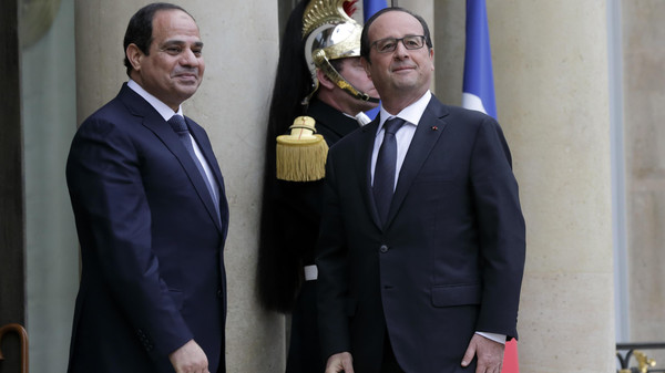 Egypt France Presidents Relations EgyNews