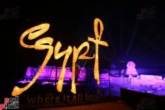 2017-01-01 New Year's celebration in Egypt at the Giza Pyramids - Egypt, where it all begins Youm7