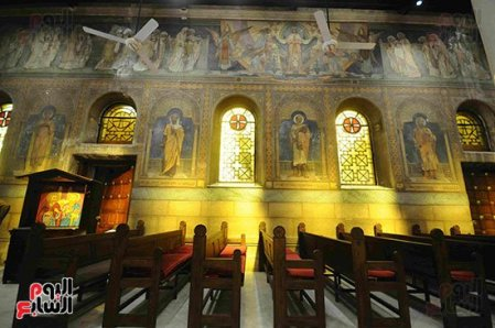 Egyptian St Peter and St Paul Church Renovation Egyptian Army Youm7