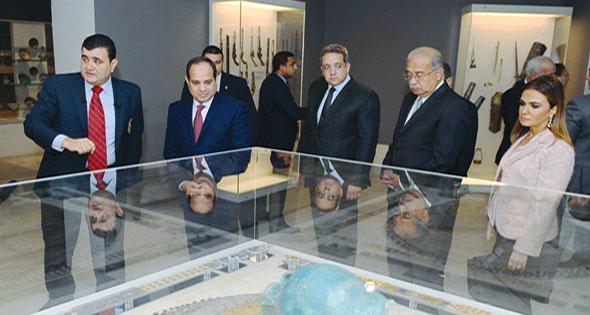 Egyptian President opens Museum of Islamic Art in Cairo Al-Ahram