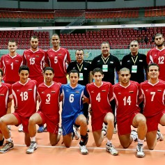 What do the modern Egyptians look like? - Egyptian men from the volleyball team