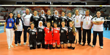 What do the modern Egyptians look like? - Egyptian young girls from Volleyball team