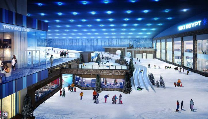 Ski Egypt - Mall of Egypt - Cairo - Egypt - Africa