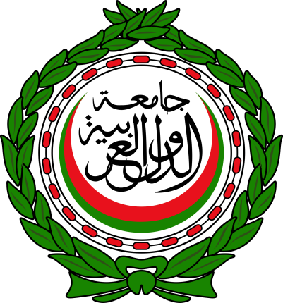 Emblem of the Arab League of nations.