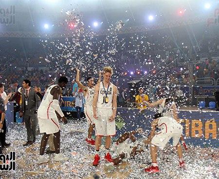 2017-07-09 FIBA under-19 basketball final Celebrations Canada Cairo Stadium Egypt - Youm7