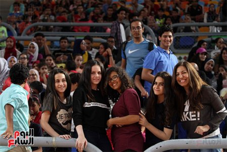 2017-07-09 FIBA under-19 basketball final Egyptian Fans and attendees Cairo Stadium Egypt - Youm7