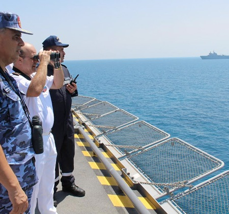2017-07-14 Egyptian and French navy and SEALS conclude Cleopatra 2017 Mission in Mediterranean (source: Ahram)
