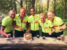 FastestXEurope Cycling Team Sweden Egypt Fastest Trip around Europe on Bike (Source: Viggo Foundation)