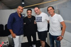2017-08-12 Luis Fonsi Despacito performing at the Summer Tropical Party in Egypt with Egyptian fans Youm7 02