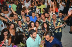 2017-08-12 Luis Fonsi Despacito performing at the Summer Tropical Party in Egypt with Egyptian fans Youm7 06