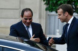 2017-10-25 Egypt El Sisi France Macron Elysee Paris Ahram 2017-636444642526350788-635