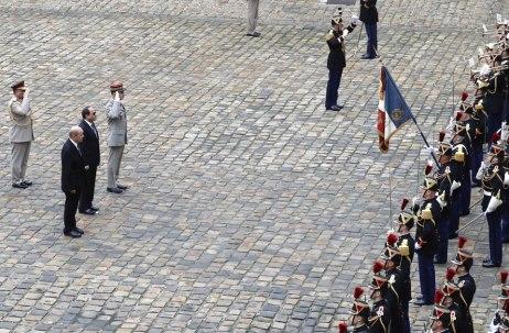 2017-10-25 Egypt El Sisi France Minister Foreign Affairs Paris Ahram 2017-636444641264314791-431