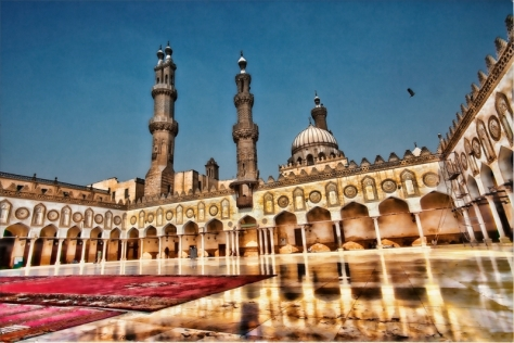 2017-11-25 Al-Azhar Mosque grand imam calls for solidarity with Egypt