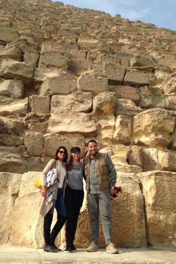 2017-12-02 Cairo International Film Festival CIFF Egypt 2017 - Stars at Pyramids - Al-Ahram 03