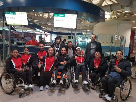2017-12-07 Egyptian Paralympic team at the world competitions in Mexico 2017 Youm7