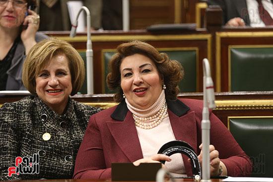 2018-01-14 Egyptian House of Representatives (Parliament) women representation 02 Youm7