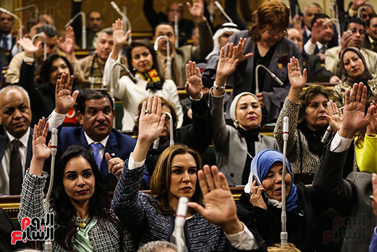 2018-01-14 Egyptian House of Representatives (Parliament) women representation 03 Youm7