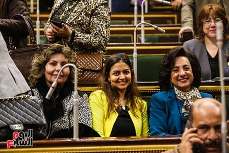 2018-01-14 Egyptian House of Representatives (Parliament) women representation Youm7