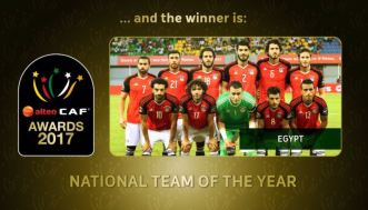 2018-01-24 Egypt Best African National Footbal Team of the Year 2017