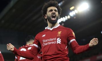 2018-01-24 Mohamed Salah Egyptian Football Player in Liverpool England Al-Ahram