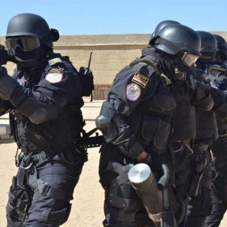 2018-01-31 Egyptian Police Special Forces