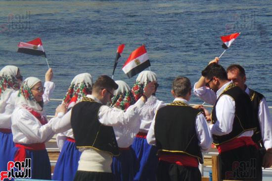 2018-02-21 Russian culture at Aswan Egypt 2018 Youm7