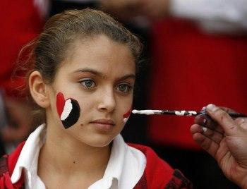 2018-02-23 Egyptian girl during revolution