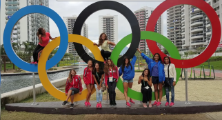 2018-02-23 Egyptian synchronised swimming olympic chamions Rio 2016