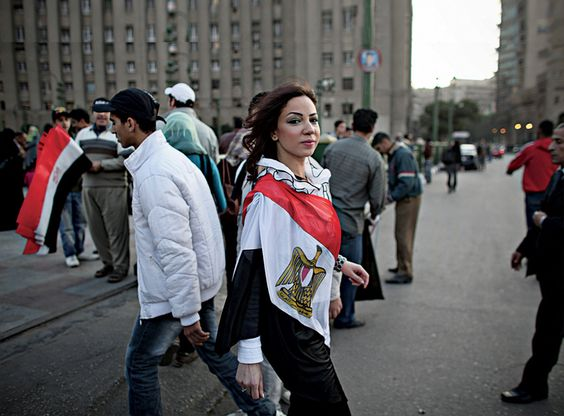 2018-02-23 Egyptian women demonstrators 01