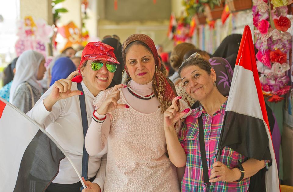 2018-02-23 Egyptian women during post-revolution democratic votes 02
