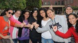 2018-02-23 Egyptian women during post-revolution democratic votes