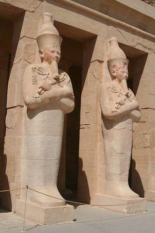 2018-02-23 Statue of Queen Hatshepsut of Egypt