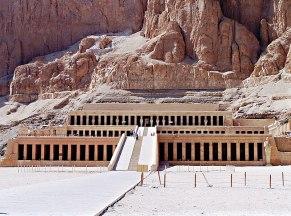 2018-02-23 Temple of the Pharaoh Hatshepsut in Luxor Egypt
