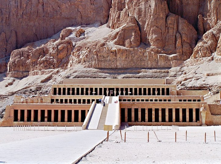 2018-02-23 Temple of the Pharaoh Hatshepsut in Luxor Egypt
