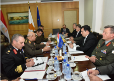 2018-03-11 Bilateral meetings between military of Egypt and Cyprus in Nicosia