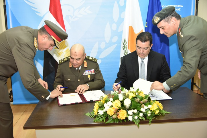 2018 03 11 Signing Bilateral Agreements Between Military Of Egypt