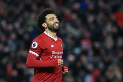 2018-03-18 Mo Salah celebrates his goal with Liverpool against Watford in Premier League 04 Youm7