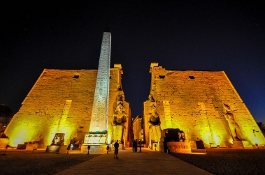 2018-04-06 Karnak temple Luxor Egypt at Night