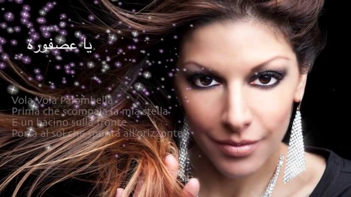 2018-04-19 Vola Vola Palombella Song Lead Singer Nadina today - YouTube
