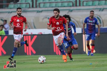 2018-04-23 Al-Ahly Football team during Petrojet match - scoring record - Youm7