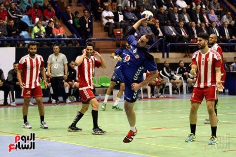 2018-04-23 Egypt Al-Ahly win Africa Handball Cup 2018 - Scoring 01 Youm7