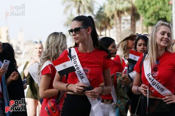 2018-05-04 World Ambassadors for Tourism and Environment at Luxor Egypt 01 - Youm7