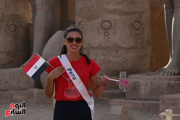 2018-05-04 World Ambassadors for Tourism and Environment at Luxor Egypt 02 - Youm7