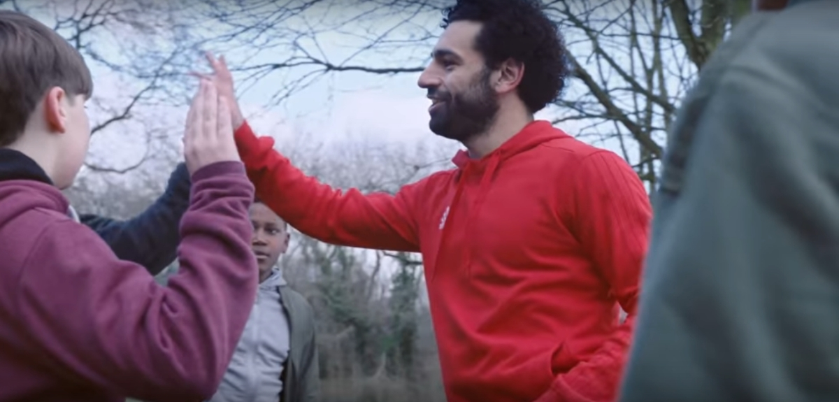 🎧⚽🙌 Egypt's Football King Mo Salah and Superstar Hamaki launch campaign against addiction with TV ad song
