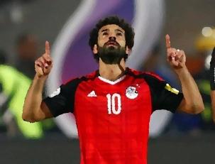 2018-05-27 Mohamed Salah Egypt National Team No 10 Cartoon